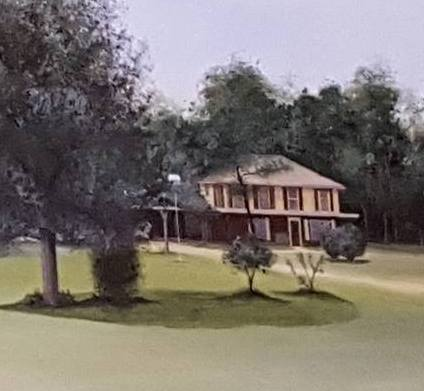 A painting of Jack's original house in Emmottville.