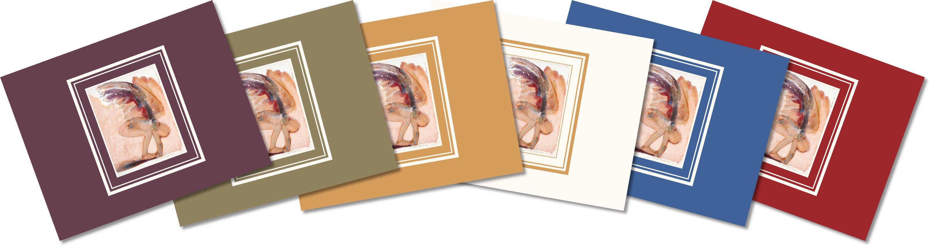 Bending Angel Note Cards